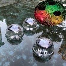 Solar Power Lamp Pool Floating RGB Pond Light LED Lamp for Garden Deco