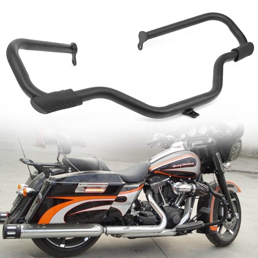 New Highway Engine Guard Crash Bar For Harley Touring Electra Glide Ultra 09-Up