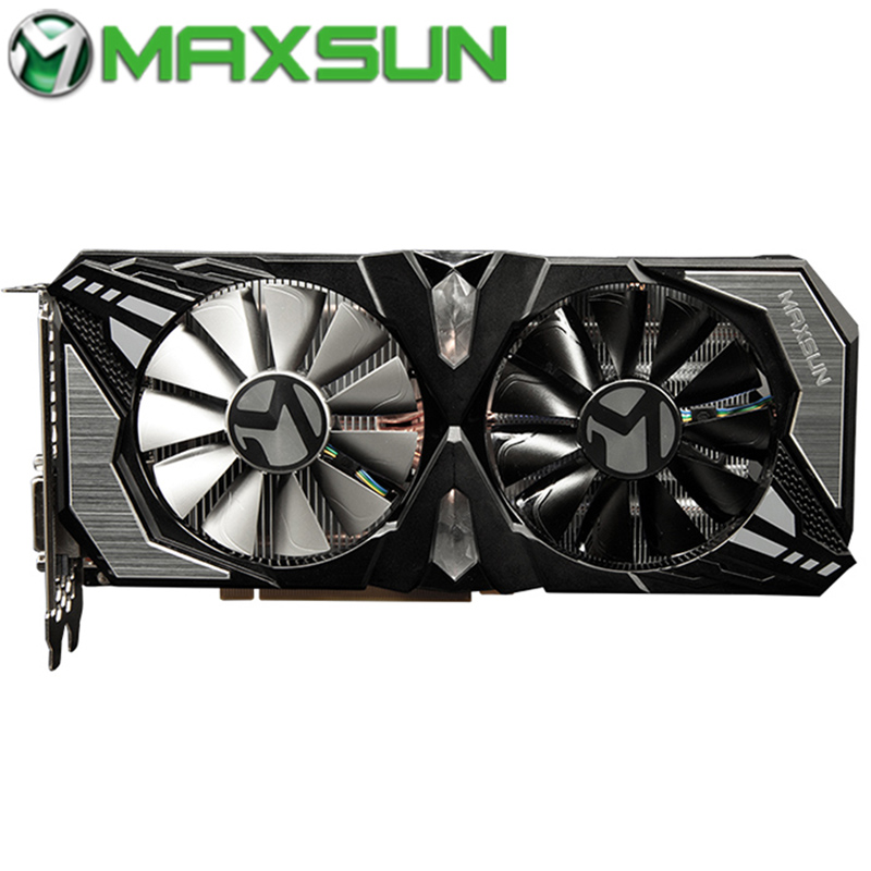 MAXSUN Graphics-Cards Terminator Nvidia Rtx 2060 Video Gaming-Gddr6 HDMI Geforce 6GB