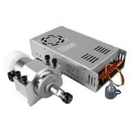 300 w 3000-12000 r/min de alta velocidade refrigerado a ar pcb motorizado eixo motor máquina de gravura acessórios da máquina de perfuração
