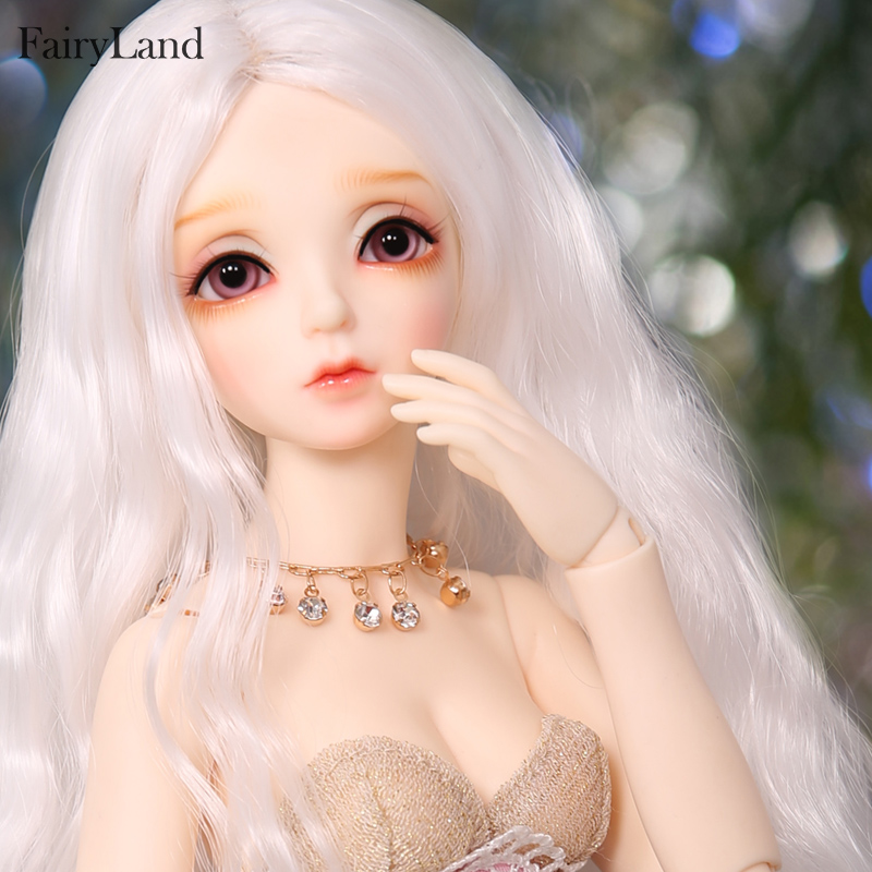 New Arrival Fairyland minifee Eva open close eye 1 4 bjd sd doll FL body model