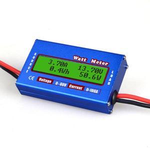 Image 2 - DC 60V 100A Balance tension batterie analyseur de puissance affichage LCD numérique Watt mètre mesure contrôleur équilibreur chargeur pour RC outils