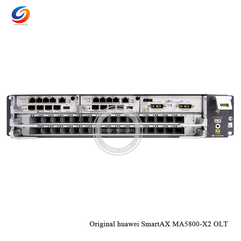 Best price New Original HW SmartAX MA5800-X2 10GE FTTH GPON OLT 40  Gbit/s-capacity with 1*MPSC +1*PISC DC Power