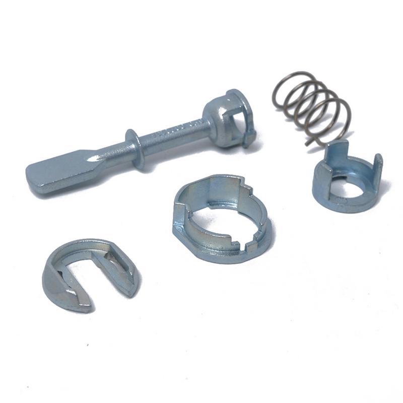 5 In 1 Car Door Lock Cylinder Repair Kit For VOLKSWAGEN Polo Replacement 6N0837223A Zinc Alloy Repair Set