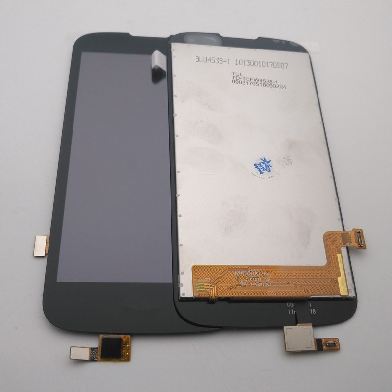 Azqqlbw For <font><b>LG</b></font> K3 LTE <font><b>K100</b></font> K100DS LS450 Touch Screen Digitizer Panel Glass + LCD Display Monitor Assembly Repair Parts+Tools image