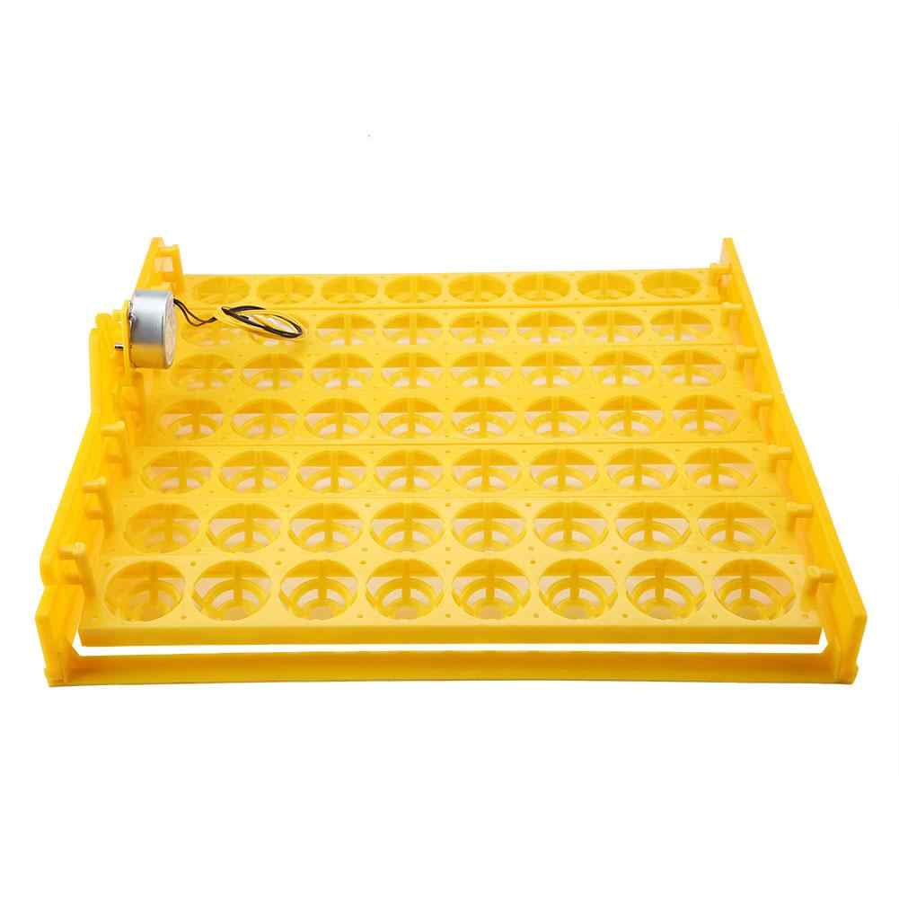 56 Farm Animal Eggs Mini Incubator Hatcher Automatic Egg Turning Tray Chick Raise Tool Motor