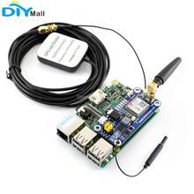 SIM868 وحدة GSM GPRS نظام تحديد المواقع GNSS بلوتوث 3.0 قبعة SMS مكالمة هاتفية لتوت العليق Pi 2B/3B/صفر/صفر ث