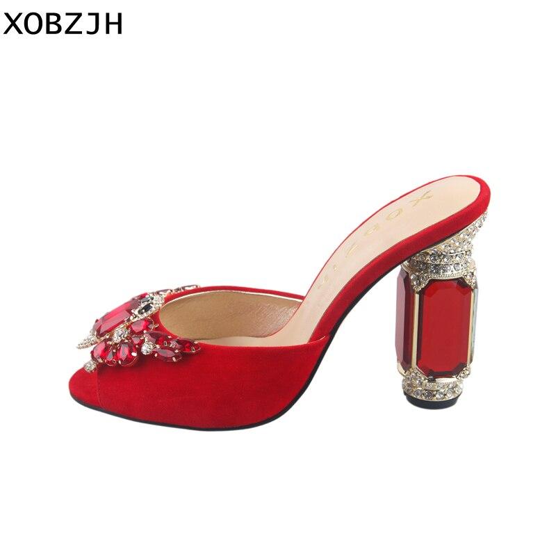 Luxe Chaussures 2019 De Sandales Marque Talons Hauts D'été Femmes dshQtr