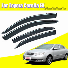 Car Sun Visor Window Rain Shade for Plastic Accessories For Toyota Corolla EX
