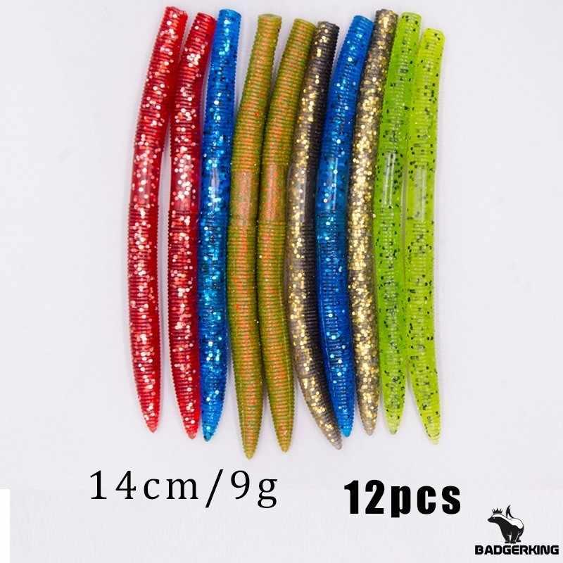 ไร้น้ำหนัก Wacky RIG Lure Kit สำหรับเบสตกปลาเหยื่อ fishhooks เล็บน้ำหนัก Oring เครื่องมือ DROP shot RIG Fishing Tackle กล่อง