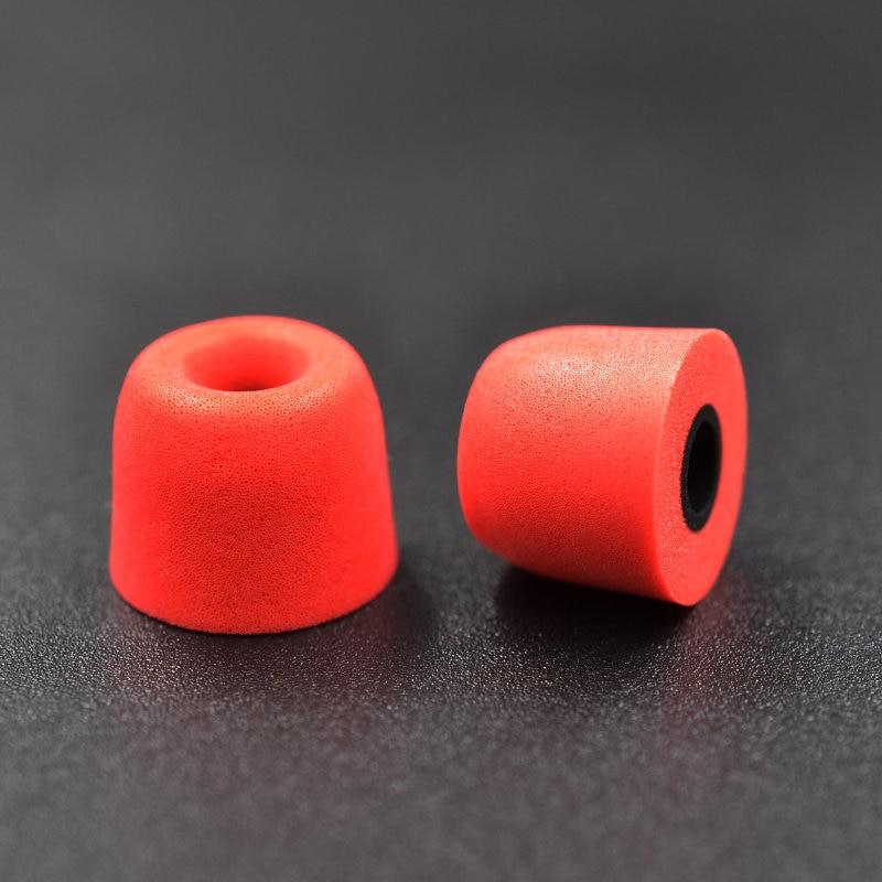 Kz 1pair 2pcs 5mm T400 Noise Isolating Memory Foam Ear Tips Ear Foam Eartips For In Ear Earphone Earbud Headset For As10 Ba10 High Quality