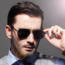 Mens Retro Aviation Polarized Driving Sunglasses Vintage Eye