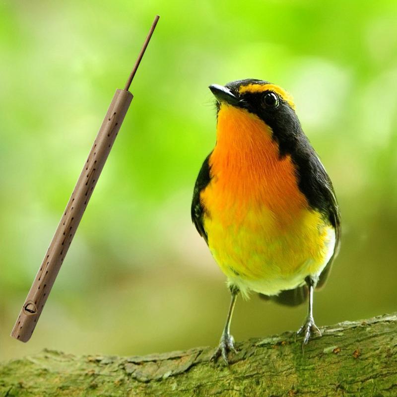 Pi Thai Bamboo Musical Bird Whistle Sound Flute Sliding Handmade Souvenirs Easy Musical Instruments Professional
