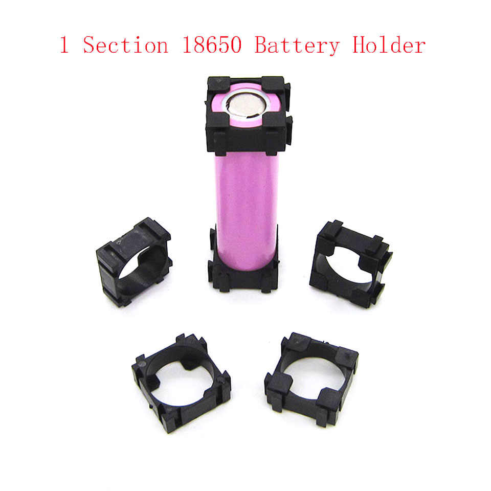 18650 Battery Cell Holder Safety Spacer Radiating Shell Storage Bracket Mayitr Suitable For 1x 18650 battery