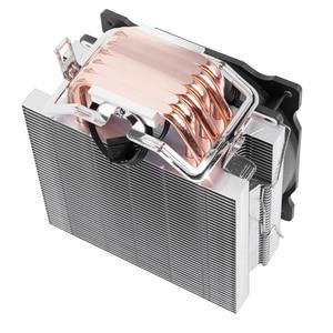 Image 5 - שלג 4PIN מעבד קריר 6 heatpipe אחת מאוורר קירור 12cm מאוורר LGA775 1151 115x1366 תמיכת אינטל AMD