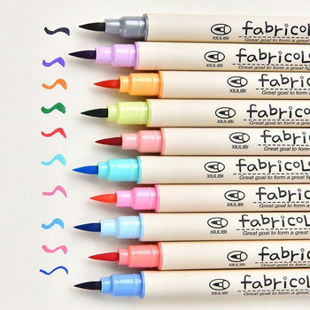 Fabricolor Write Brush Pen Calligraphy Paint Marker Pens Set Drawing Painting Watercolor Art Supplies Markers 04429 calligraphy pen hand lettering pens brush lettering pens markers for writing drawing black ink pens art marker