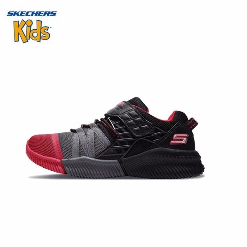 SKECHERS Skye Strange Men Children's Shoes New Pattern Cool Will Magic Gentle Shock Sneakers #97940L skechers skechers sk261agicb98
