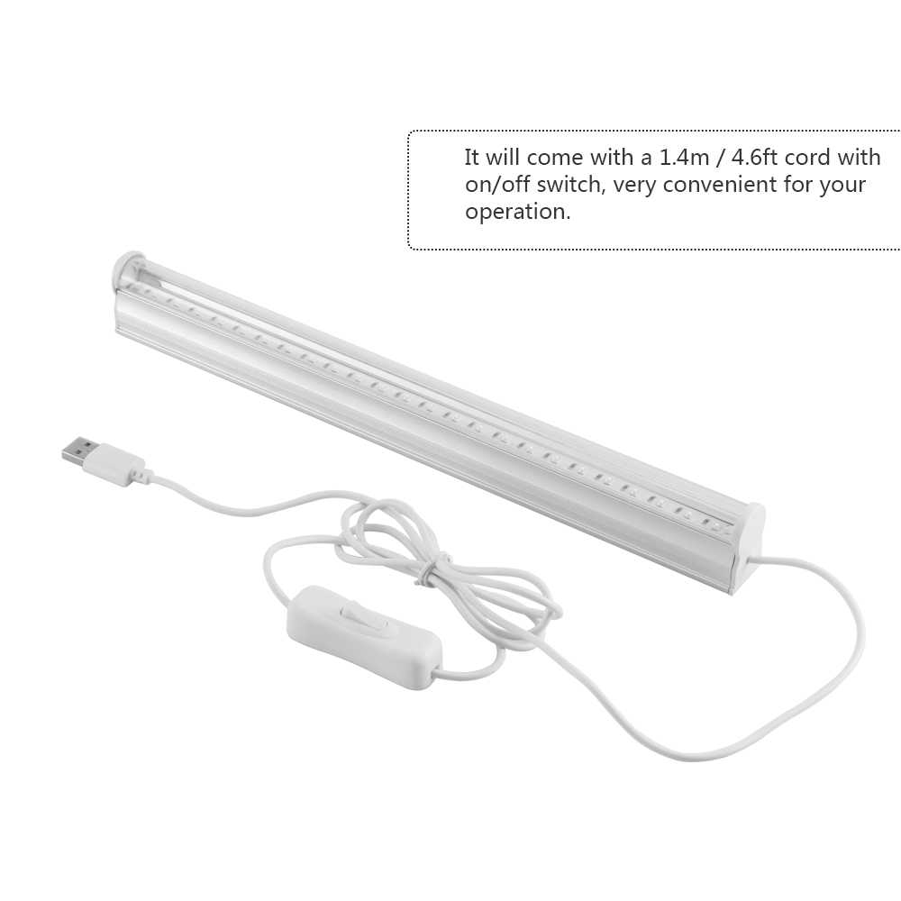 6 w 24 LED UV אור גופי נייד Blacklight מנורת עבור UV פוסטר UV אמנות Dimmable שחור אור אולטרה סגול מנורה עבור DJ המפלגה
