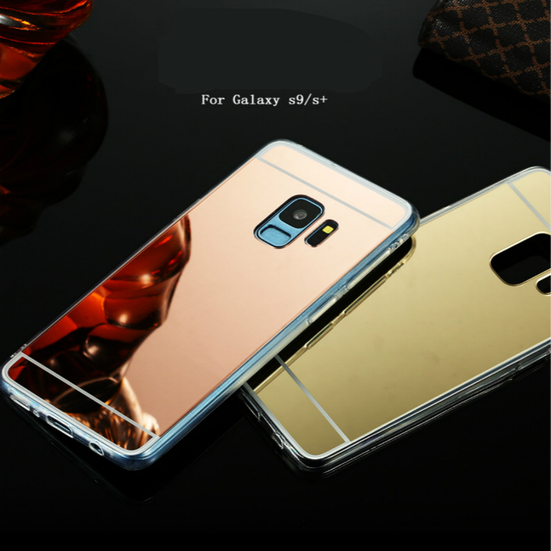 2e0ded1c2ab For Samsung Galaxy A750 Case Mirror Silicon TPU Back Cover For Galaxy A5 A7  J3 J5