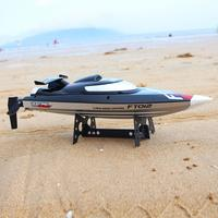 FT012 бесщеточный с водяным охлаждением 2,4 г RC лодка с дистанционным управлением 180 градусов флип 50 км/ч высокоскоростная Электрическая Подвод