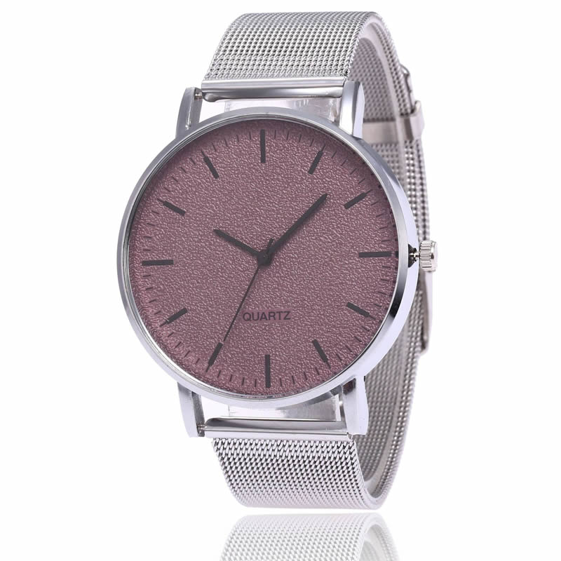 Women Steel Mesh Quartz Rosefield WatchFrosted Dial Silver Small Clock Ladies Luxury Bracelet Dress Wrist Watch Female Horloge