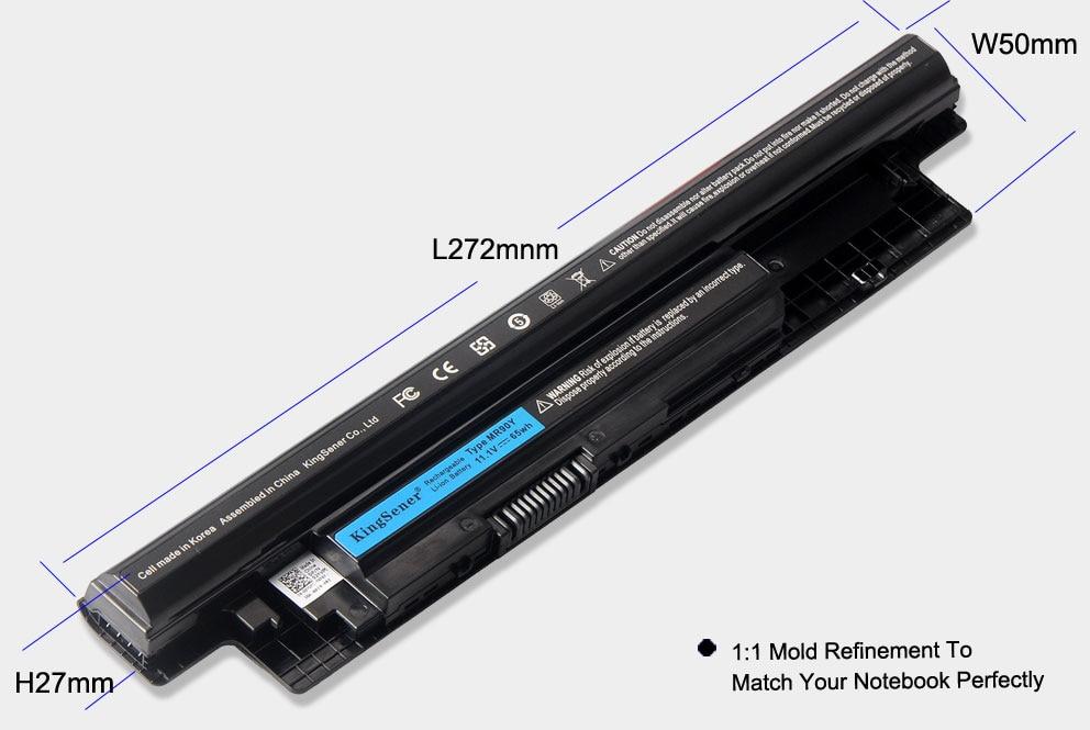 KingSener 6000 mAh Corea celular MR90Y batería para DELL Inspiron 3421, 3721, 5421, 5521, 5721, 3521, 3437, 3537, 5437, 5537 3737 de 5737 XCMRD - 4