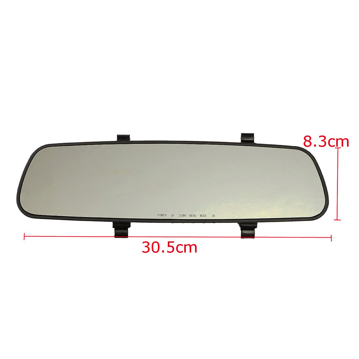 2.4'' 720P HD Rearview Smart Mirror Camera Monitor Dashboard Cam DVR Recorder 4