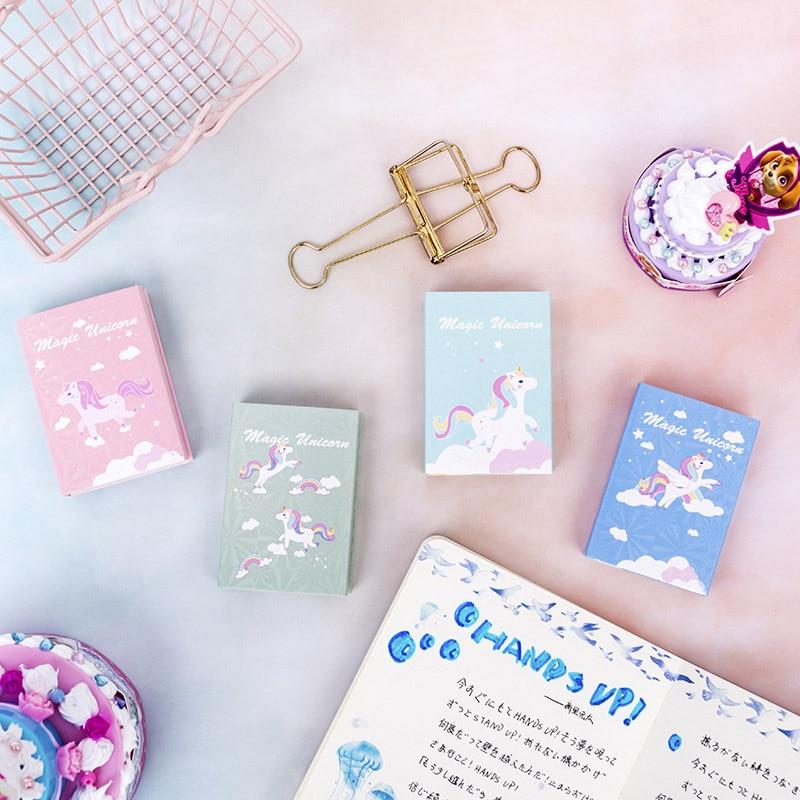 Sumikko Gurashi memo blok crtani slatki jednorog ljepljive bilješke - Bilježnice i dnevnici - Foto 5