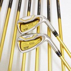 Palos de Golf honma s-06 4 estrellas juego de palos de GOLF 4-11Sw.Aw Golf hierro club grafito Golf eje R o S flex envío gratis