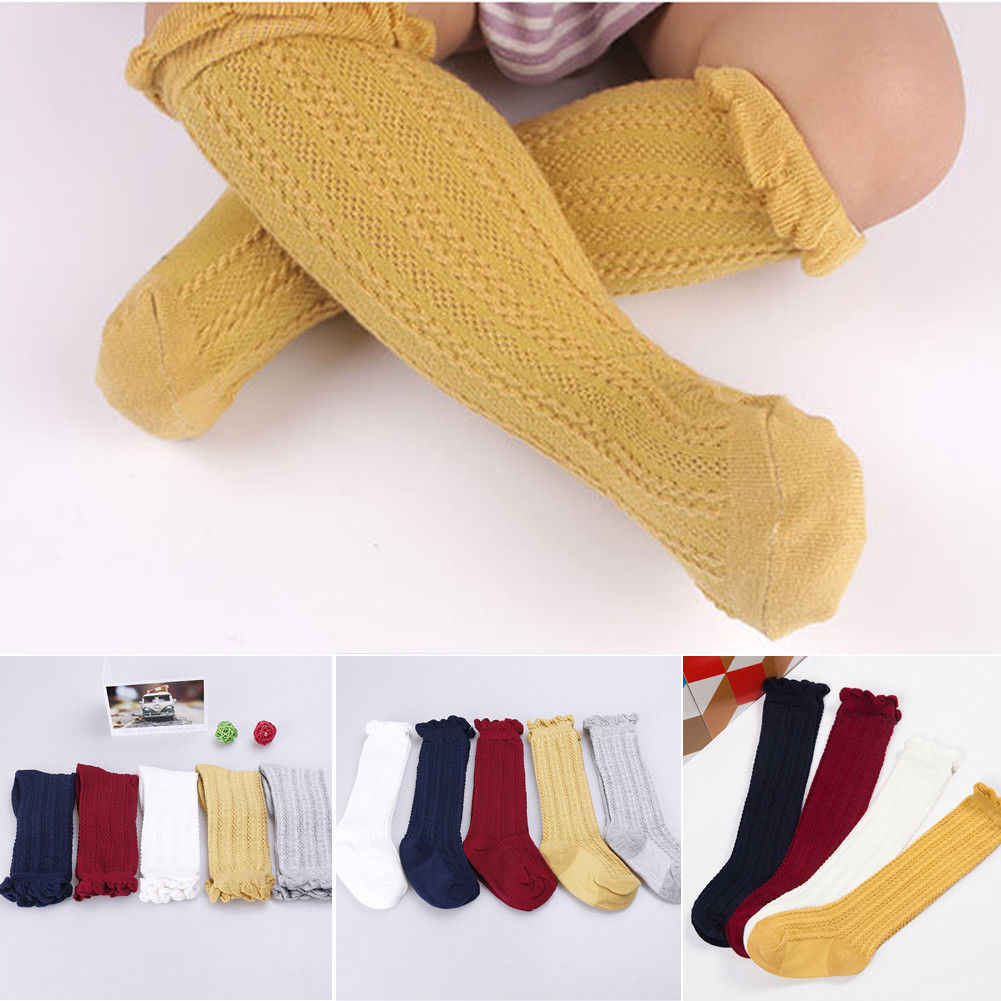 2019 Newest Style Newborn Baby Girls Autumn Winter Warm Knee Princess Baby Girls Toddlers Adorable Stockings