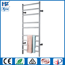Free shipping Stainless steel 304 ladder style wall mounted heated towel rail  towel warmer holder electric towel dryer HZ-927A все цены