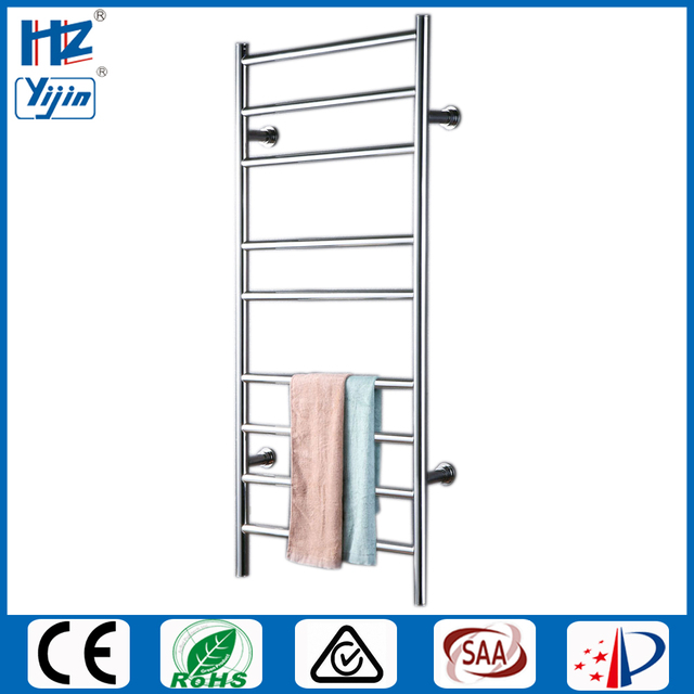Free shipping Stainless steel 304 ladder style wall mounted heated