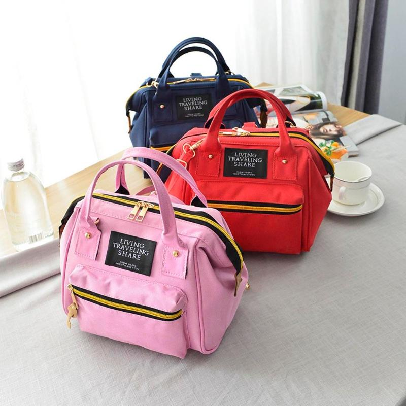 Multi Colors Available Fashion Girls Canvas Colorful Backpack Preppy Style bag School Bags Shoulder Bag Mochila Bolsa Z60 in Backpacks from Luggage Bags