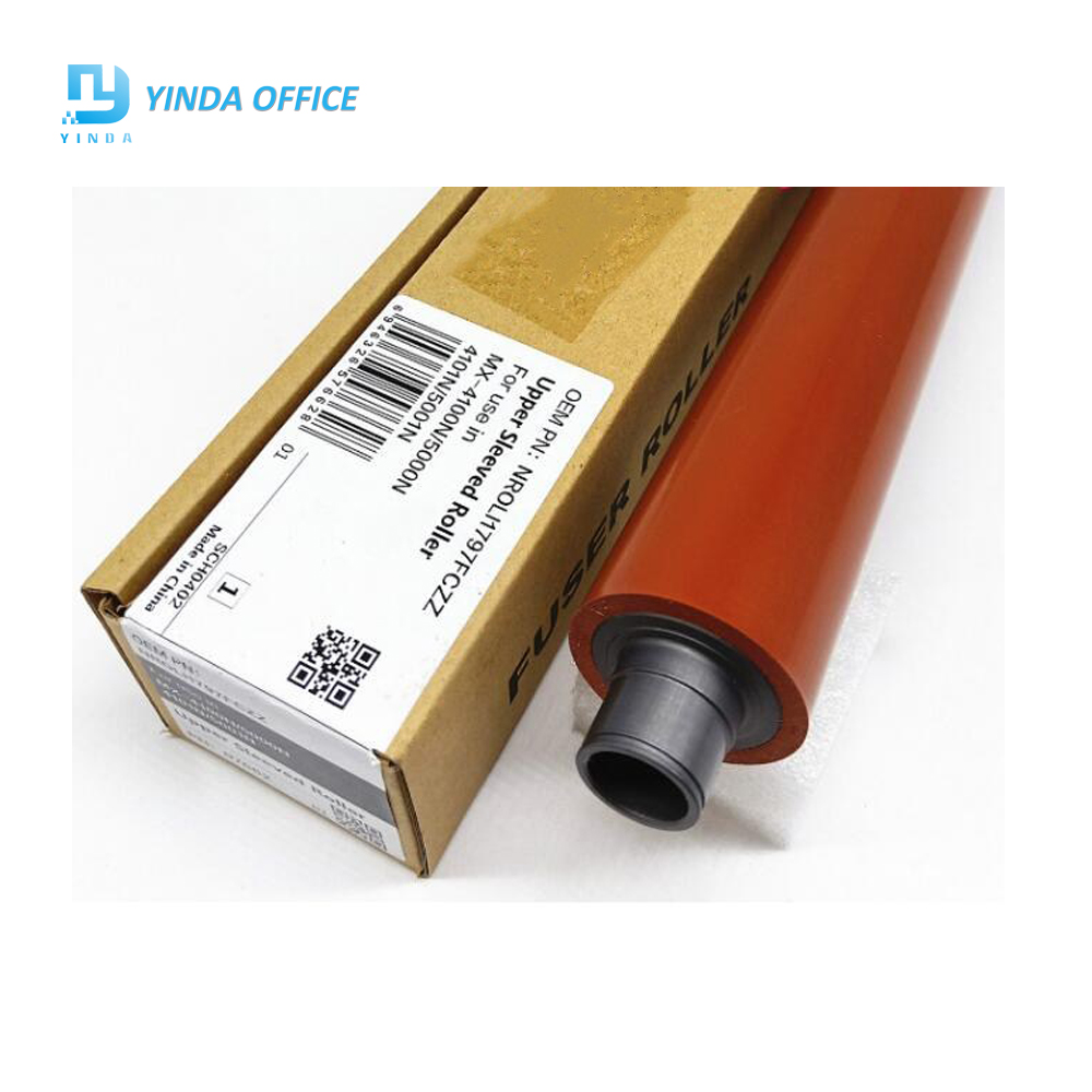 upper fuser roller MX5001 for Sharp MX 4100N MX 4101N MX 5000N MX 5001N heat roller