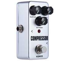 KOKKO Guitar Pedal Effect Compressor FCP2 Mini Electric Bass Guitar Effects True Bypass Musical instruments High Quality