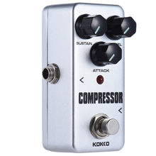 KOKKO Guitar Pedal Effect Compressor FCP2 Mini Electric Bass Guitar Effects True Bypass Musical instruments High Quality(China)