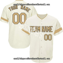 c662de781 Wholesale OEM Custom Baseball Jersey for Men Women Youth League Embroidered  Team Player Name Number Design