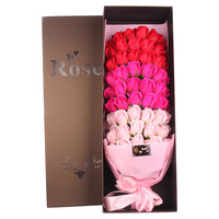 66PCS Beautiful Romantic Soap Flowers Mix Gorgeous Realistic Artificial Roses Preserved Flowers For Valentine'S Day Mother's Day