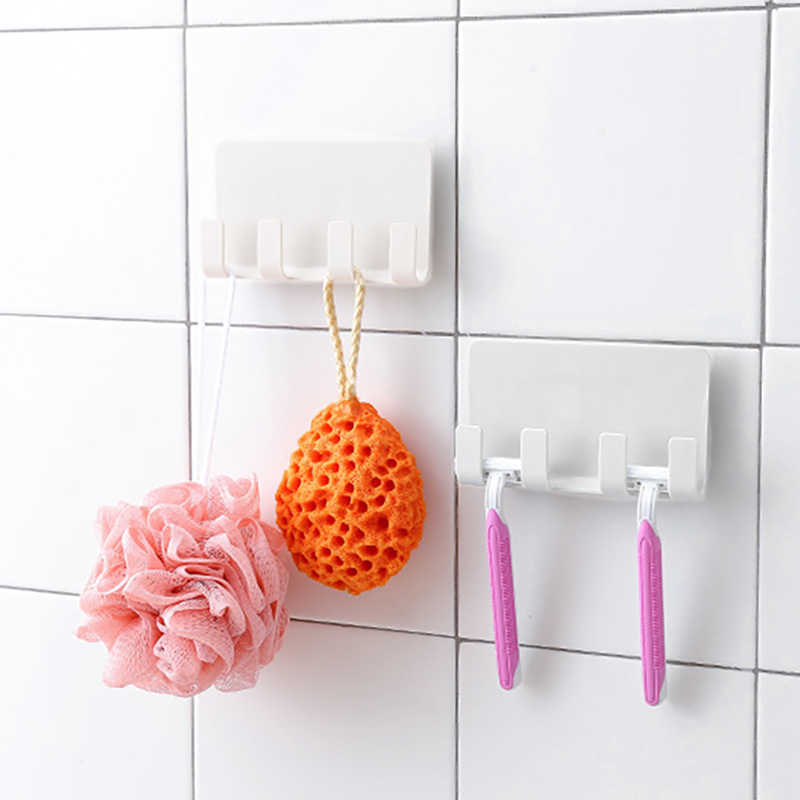Phone bath towel razor storage rack Practical Wall Phone Holder Socket Charging Box Stand bathroom Holder Kitchen Organizer 2018