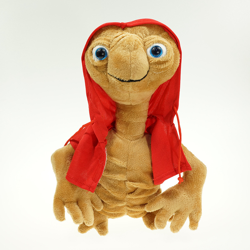 22cm Kawaii E.T Plush Toys  ET The Extra-Terrestrial E.T Soft Stuffed Doll Toys With Cloth Children Kids Toys