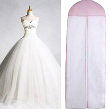 Non-woven Fabric Wedding Dress Gown Dustproof Cover Bridal Garment Foldable  Storage Bag Long Clothes 677e9225ecf6