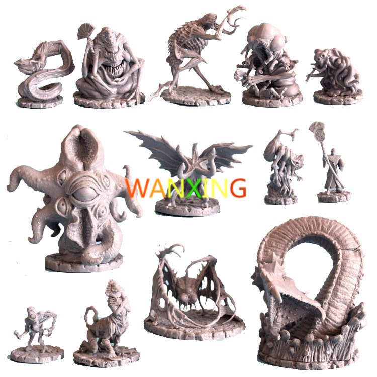 1/72 Scale Model Dragon And Dungeon Series Cthulhu Wars Role Playing DND Miniatures Resin Figure DIY Toys Hobby Tools