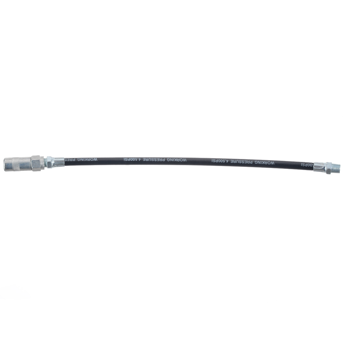 13 inch Heavy Duty High Pressure Long Extension Grease Gun Hoses Flexible Grease Pipe Hose For Grease Gun Fittings