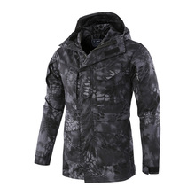 2019 Men Tactical Clothing US Army Windproof Military Field Jacket Coats Hoodie Casaco Masculino Windbreaker Men Autumn winter цена