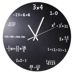 Настенные часы акриловые математическая формула часы Гостиная Офис Дом Diy украшения настенные часы современный дизайн