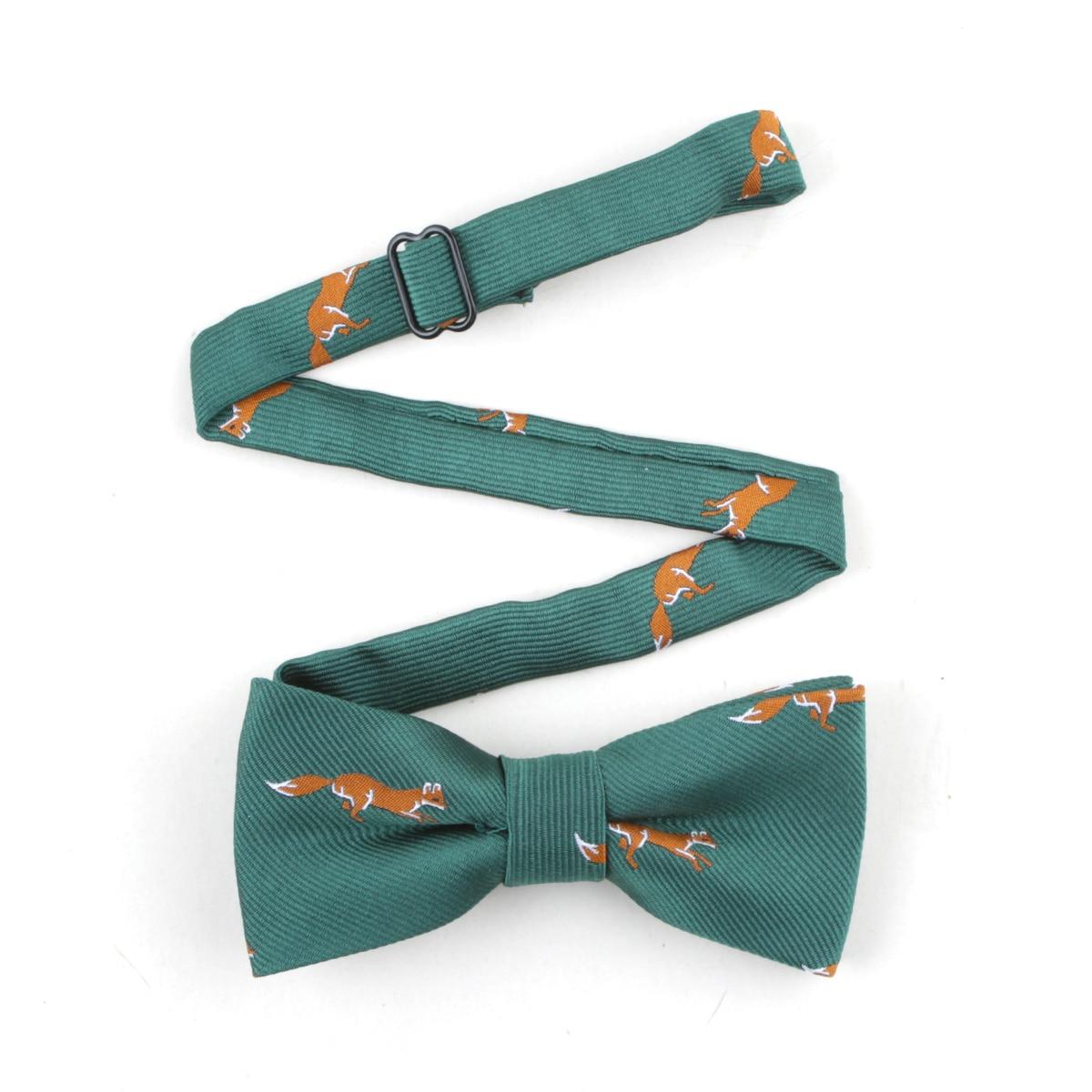 Bowtie Men Animal Fox Necktie Boy Mens Fashion Business Wedding Bow Tie Male Dress Neckwear Bow Tie Men's Ties & Handkerchiefs