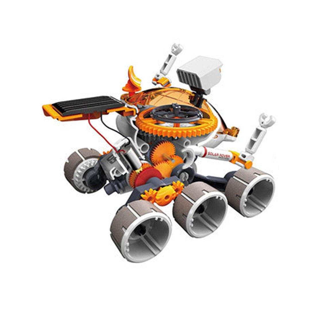 Jouets éducatifs d'assemblage de Science de véhicule itinérant d'énergie solaire de bricolage d'enfants