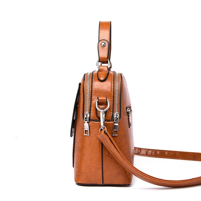 Image 2 - 2019 Small Crossbody Bag For Women Leather Shoulder Bags Bolsas Feminina Small Messenger Bags Female Sac A Main Ladies Bag NewTop-Handle Bags   -