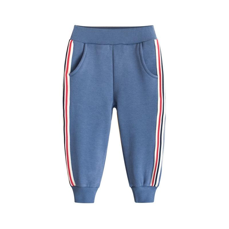 Han edition children's wear panty somber toned children sports pants boy fall toddler pants girls winter