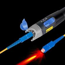20mw 15-20KM Red Laser Pen FTTH Fiber Optic Tester Pen with Metal Frosted Paint Design(China)